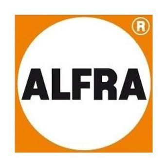 Logo de la marca ALFRA